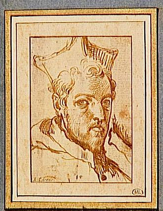 Odoardo Farnese (cardinal) - Portrait by Annibale Caracci.