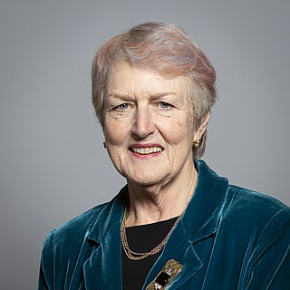 Barbara Young, Baroness Young of Old Scone BBC Governor, Peer and Chancellor of Cranfield University (born 1948)