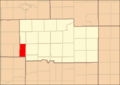 Ogle County Illinois Map Highlighting Eagle Point Township.png