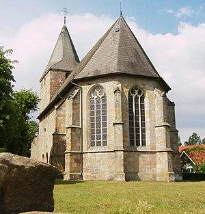 Ohne - Church in Ohne, Grafschaft Bentheim's oldest church (partly from the 13th century
