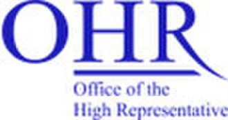 Accession of Bosnia and Herzegovina to the European Union - Image: Ohr logo 2 a