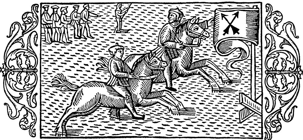 Olaus Magnus - On Horse Races on the Ice