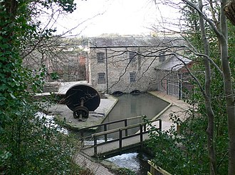 Greenfield, Flintshire - Image: Old Cotton Mill geograph.org.uk 668173