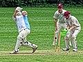 Old Finchleians Cricket Club v Highgate Taverners Cricket Club at Finchley, London, England 11.jpg
