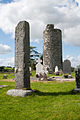 Old Kilcullen East Shaft and Round Tower 2013 09 05.jpg