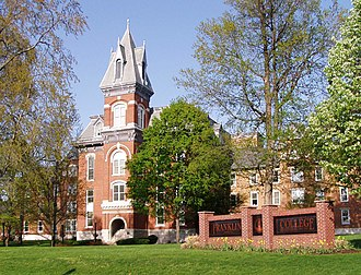 Franklin College (Indiana) - Old Main