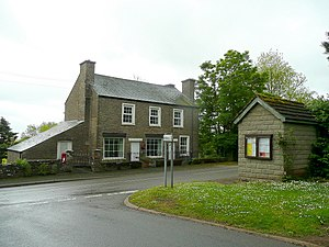 Cross Ash - Image: Old Post Office, Cross Ash geograph.org.uk 1309419