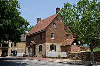 Winston-Salem, North Carolina - Historic Winkler Bakery in Old Salem