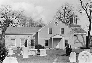 Burlington, New Jersey - The original St. Mary's Episcopal church is the oldest church in New Jersey.