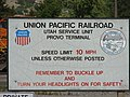 Old sign for the Union Pacific Provo Yard, Jul 15.jpg