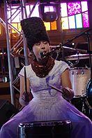 Olena Tsibulska (DakhaBrakha) (Haldern Pop 2013) IMGP6636 smial wp.jpg