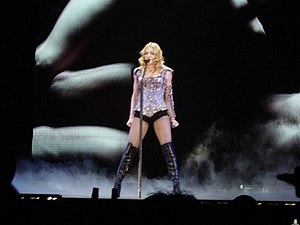 "Ray of Light - Madonna performing the album's lead single ""Frozen"" on the Re-Invention World Tour in 2004"