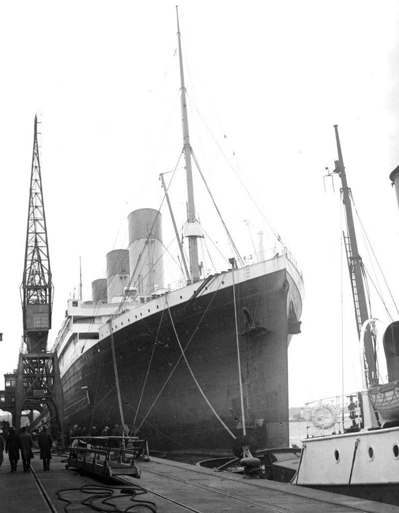 Olympic, Southampton, 1929