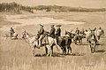 "On the Head-Waters--Burgess Finding a Ford (Illustration from Frederic Remington's ""Pony Tracks,"" 1895) MET ap62.241.2.jpg"