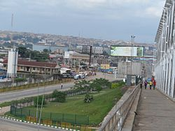 Onitsha is the biggest river port city in Nigeria