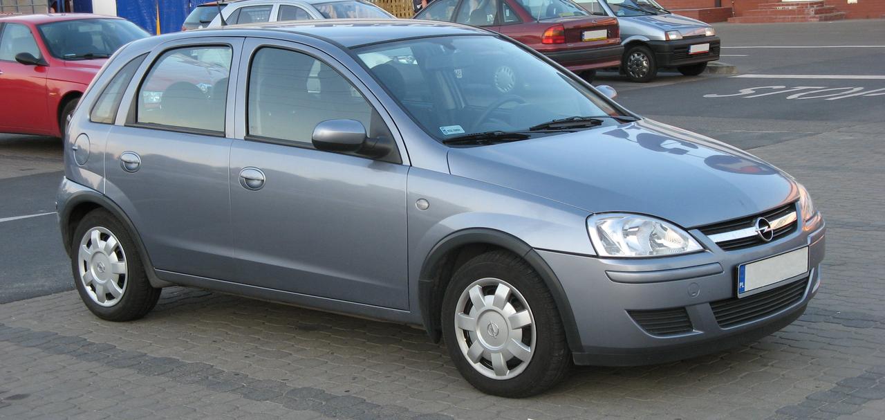 FileOpel Corsa C 5-door.png & File:Opel Corsa C 5-door.png - Wikipedia
