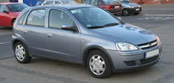 Opel Corsa C 5-door (post-facelift)