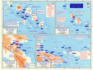 "Archibald Roosevelt - War in the Pacific – New Guinea Campaign's ""Operation Cartwheel"""