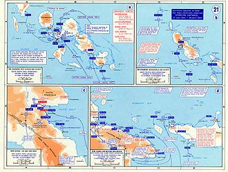 """Archibald Roosevelt - War in the Pacific – New Guinea Campaign's """"Operation Cartwheel"""""""