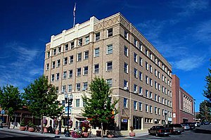 Klamath Falls, Oregon - The Oregon Bank Building is one of 13 sites in Klamath Falls listed on the National Register of Historic Places