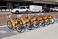 Orlando Bike Share bicycles in Lake Eola Park.jpg