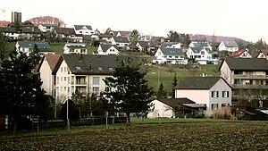 Ormalingen - Newer houses in Ormalingen