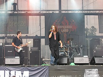 Folk metal - Orphaned Land is a leading performer of oriental metal.