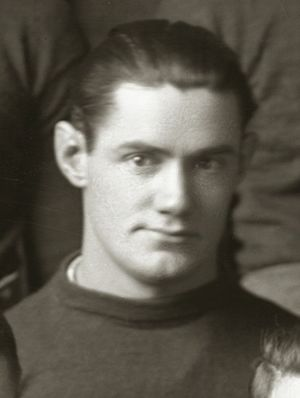 Oscar Lambert - Lambert cropped from 1917 Michigan team portrait