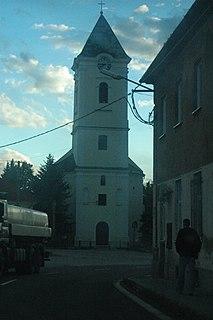 Oslany Village in Slovakia