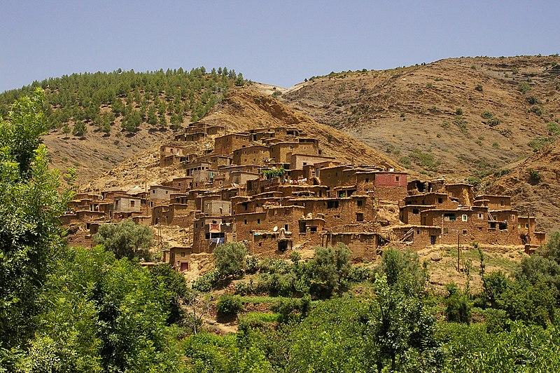File:Ourika berbere village.jpg
