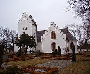 Oxie - 12th-century Oxie church.