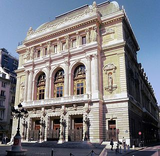 Salle Favart opera house in Paris, France, home to the Opéra-Comique company, 3rd theatre building of that name, opened 1898