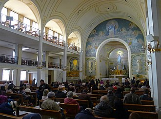 Chapel of Our Lady of the Miraculous Medal - The interior