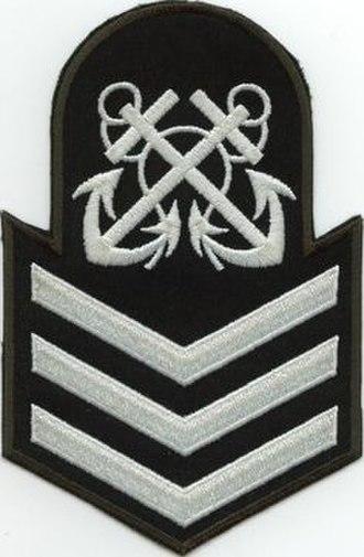 Royal Canadian Sea Cadets - Image: PO2 Badge