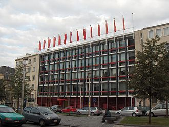Parti Socialiste (Belgium) - The Brussels headquarters of the PS (2006)