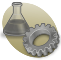 P science2 icon brown.png