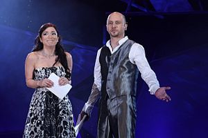 Malta in the Eurovision Song Contest 2009 - The hosts Pablo Micallef and Valerie Vella