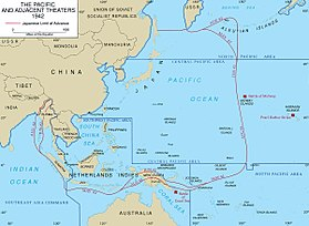A map of the Pacific Theater.