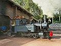 Pairi Daiza (Brugelette) Henschel steam locomotives.jpg