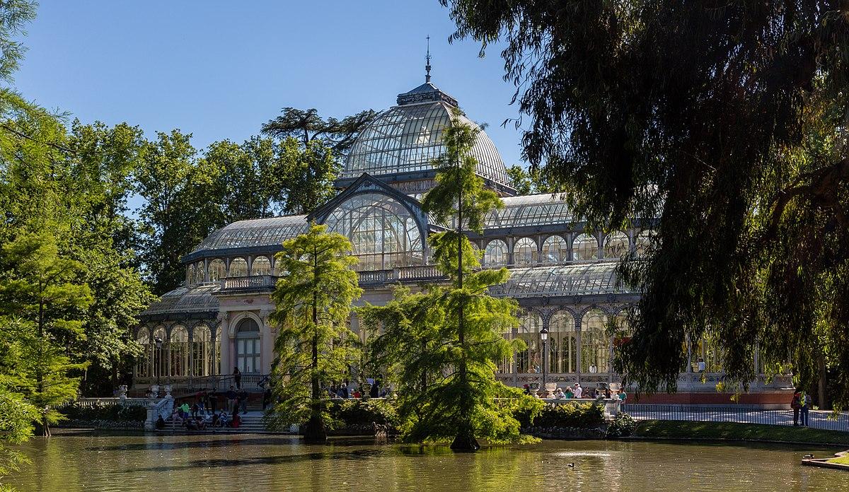 Palacio de cristal del retiro wikipedia la enciclopedia for Parque del retiro madrid