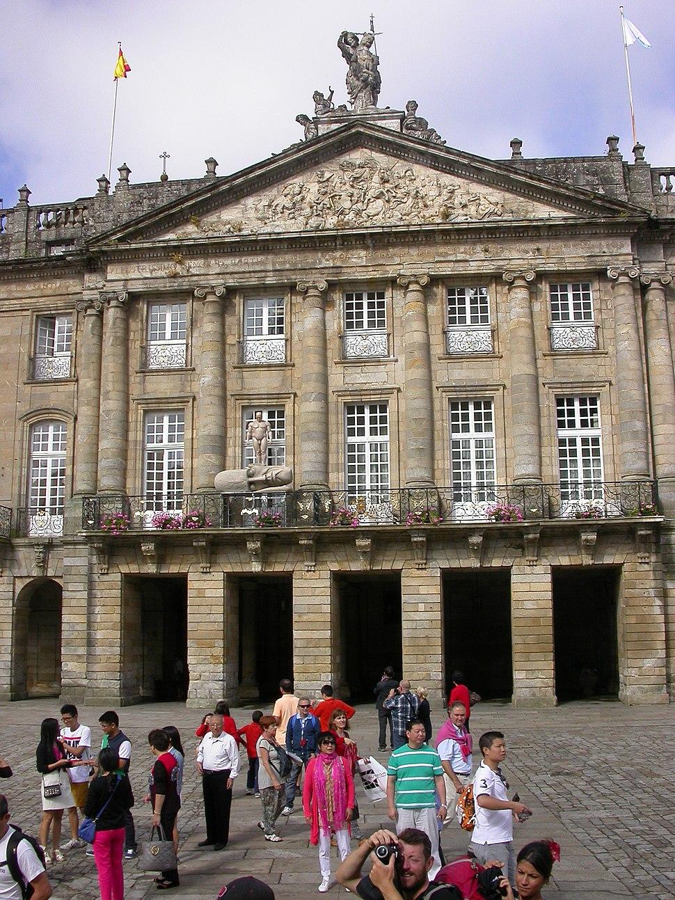 Palacio de Rajoy, Santiago de Compostela, Coruña