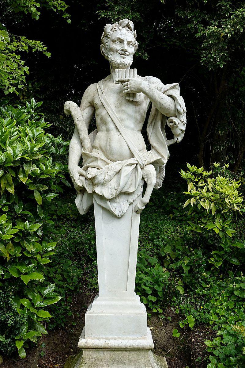Pan, sculptor unknown, 1700-1800 - Waddesdon Manor - Buckinghamshire, England - DSC07887.jpg