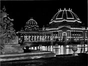Pan-American Exposition - Ethnology Building at Night