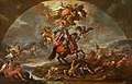 Paolo de' Matteis (1662-1728) - A Glorification of Prince Eugene of Savoy's Victory over the Turks in Hungary and at Zenta and Belgrade in 1697 - 1530105 - National Trust.jpg