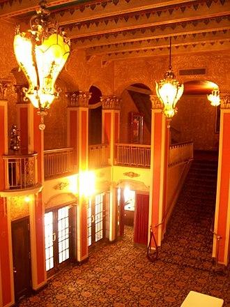 Paramount Theatre (Abilene, Texas) - The theater's lobby