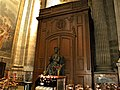 Paris, France. Saint-Sulpice Church. (Interior, Saint Peter with the keys statue.) (PA00088510).jpg