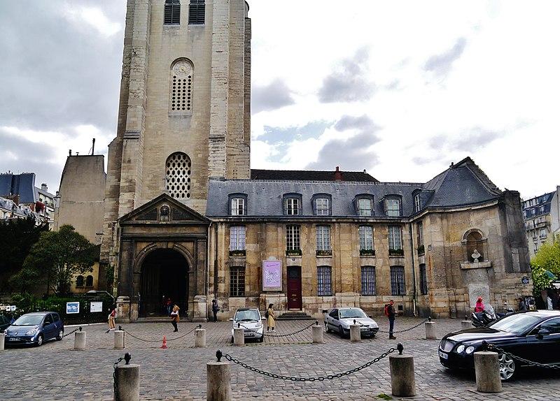 File:Paris Abbaye Saint-Germain-des-Prés 4.jpg