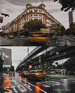 Park Street, Kolkata Neighbourhood-cum-Road in Kolkata, India