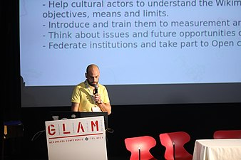 Participants at GLAM WIKI Tel Aviv Conference 2018 (33).JPG