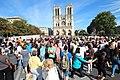 Parvis Notre-Dame fermé par la police à Paris le 14 août 2016 - 03.jpg